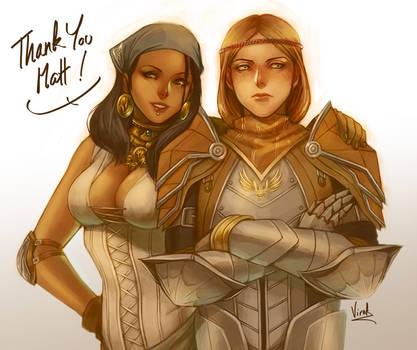 Isabela and Aveline