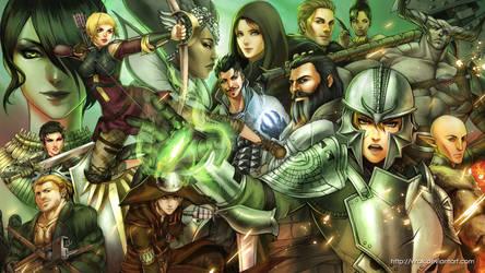Dragon Age Inquisition by virak