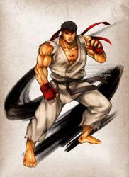 Street Fighter Ryu by virak