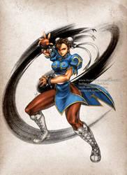 Street Fighter Chun Li by virak
