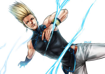 The King of Fighters XV Benimaru