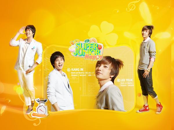 super junior wallpaper. Super Junior Happy Wallpaper