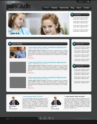 PrioStudio - Wordpress layout