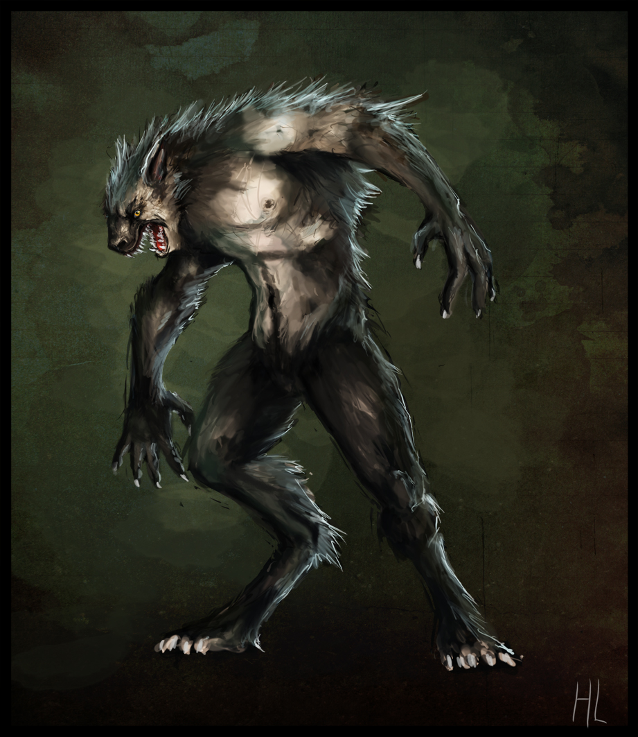 Werewolf Concept by HennaL on DeviantArt