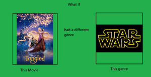 What If Tangled Was A Science Fiction Movie?