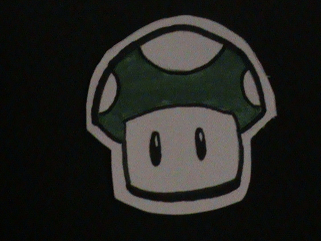 1Up Mushroom by LeelaTheMinion
