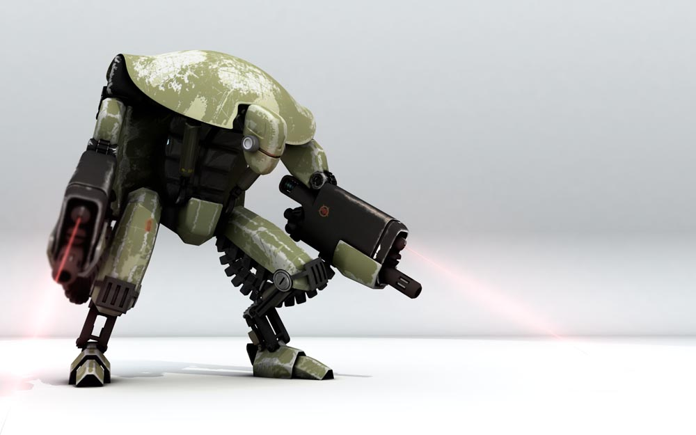 War Droid by bergstromo