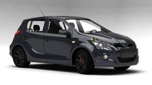 Hyundai i20 rendered