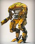 Kitbashed Robot 2
