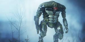 War torn Robot w.i.p