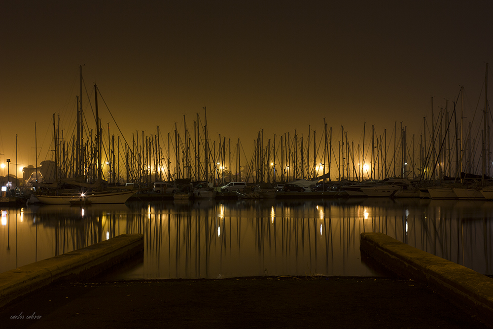 Fog in the bay. by CabrerFoto