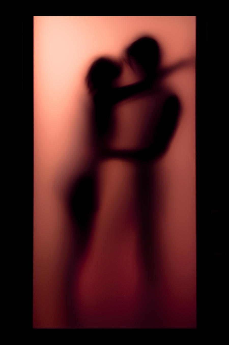 Lovers' silhouette by vallo29