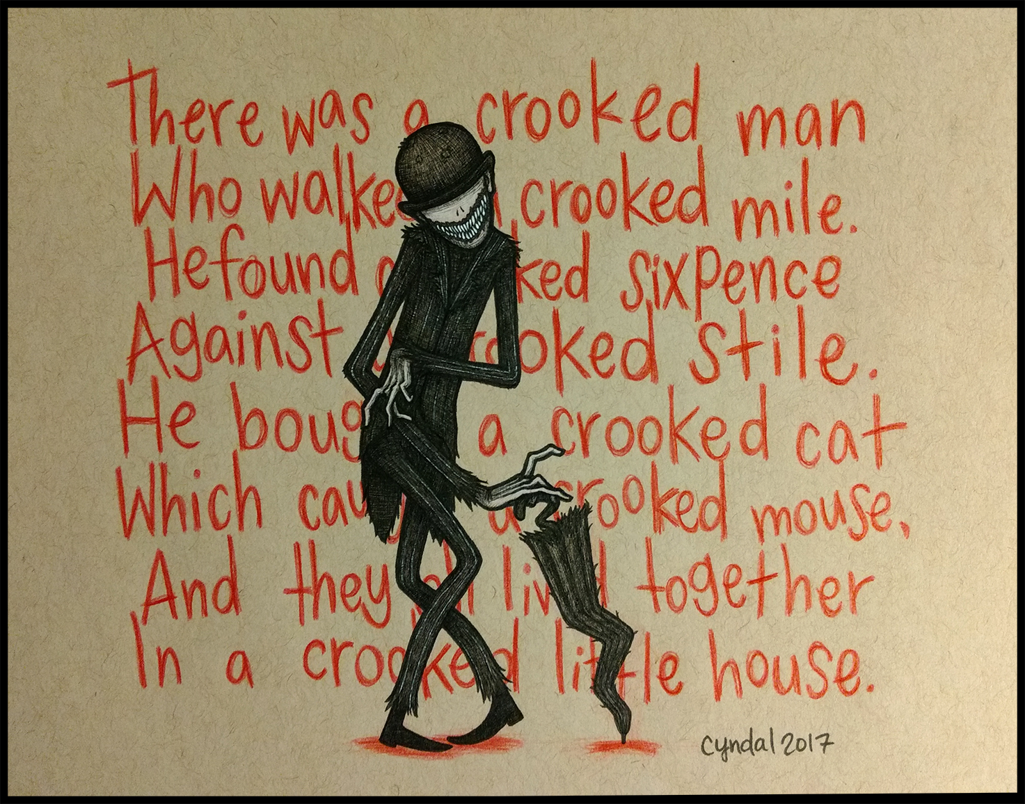 Crooked By Cyndalcreates On Deviantart