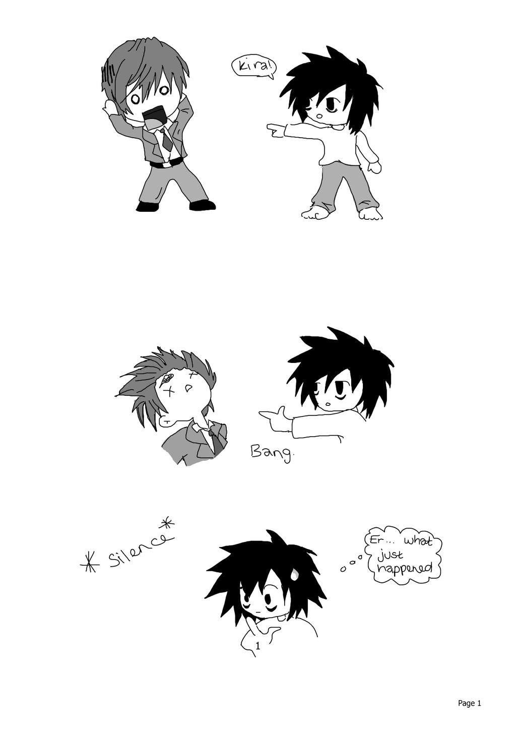 How Death Note should have ended xD by cathy416
