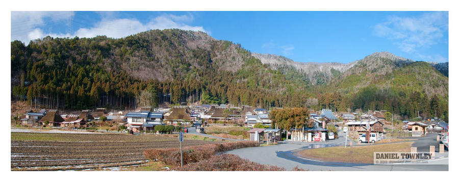 Miyama panorama by dtownley1