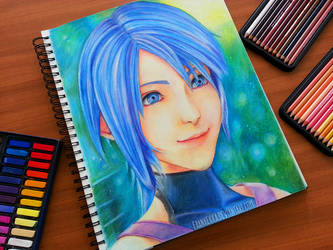 Aqua - Kingdom Hearts 2.8 / KH 0.2 by frankekka