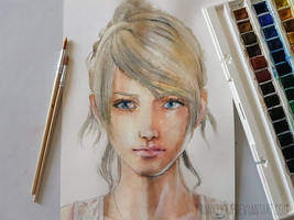Lunafreya Nox Fleuret by frankekka