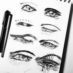 Anime eyes (2)
