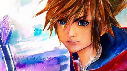 Sora - Kingdom Hearts 3 by frankekka