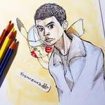 Detective Pikachu - sketchy sketch by frankekka