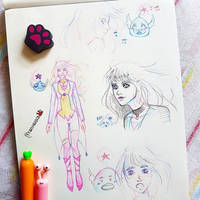 [] Character design [] by frankekka