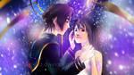 Squall and Rinoa - Final Fantasy VIII - WALLPAPER by frankekka