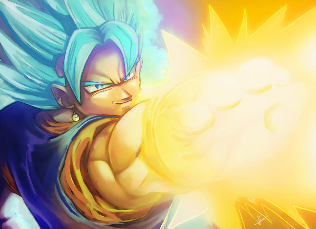 Vegito Blue by BlueAlacrity