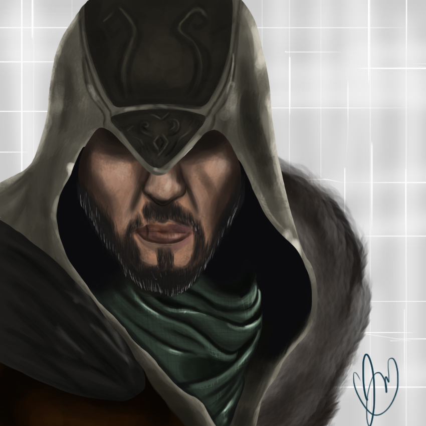 Ezio Auditore by jujuMilani