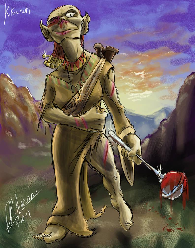 The Goddess Triumphant by Readasaur