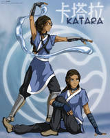Avatar : Katara Poster by Nylak