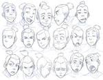 Sokka Expressions Study