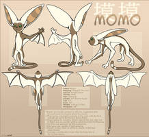 Avatar : Momo Reference Sheet by Nylak