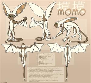 Avatar : Momo Reference Sheet