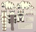 Avatar : Appa Reference Sheet