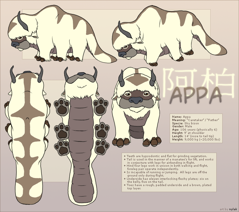 The Last Airbender Movie Appa: Appa