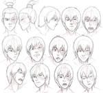 Zuko Expressions Study