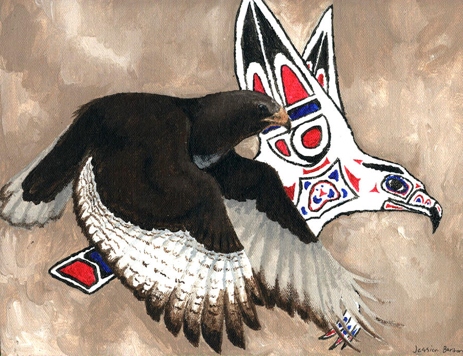 Hawk Totem By Nylak On Deviantart