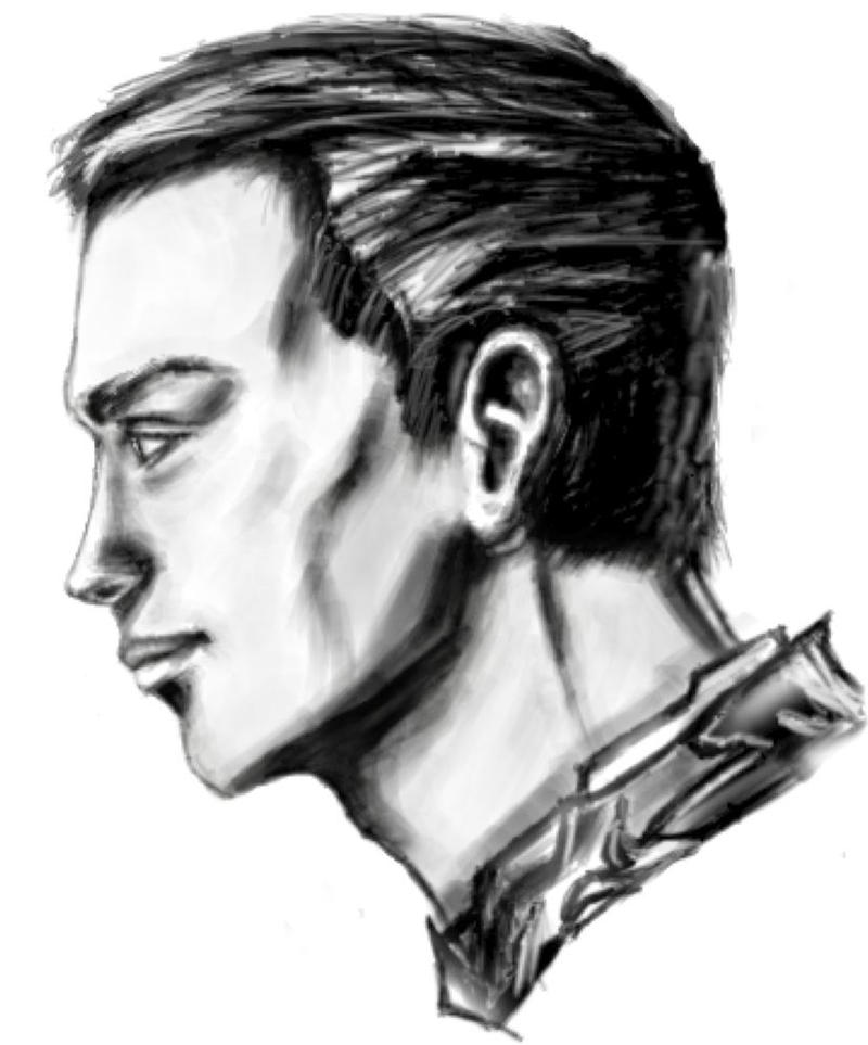 First Male Portrait by FiRez-DA