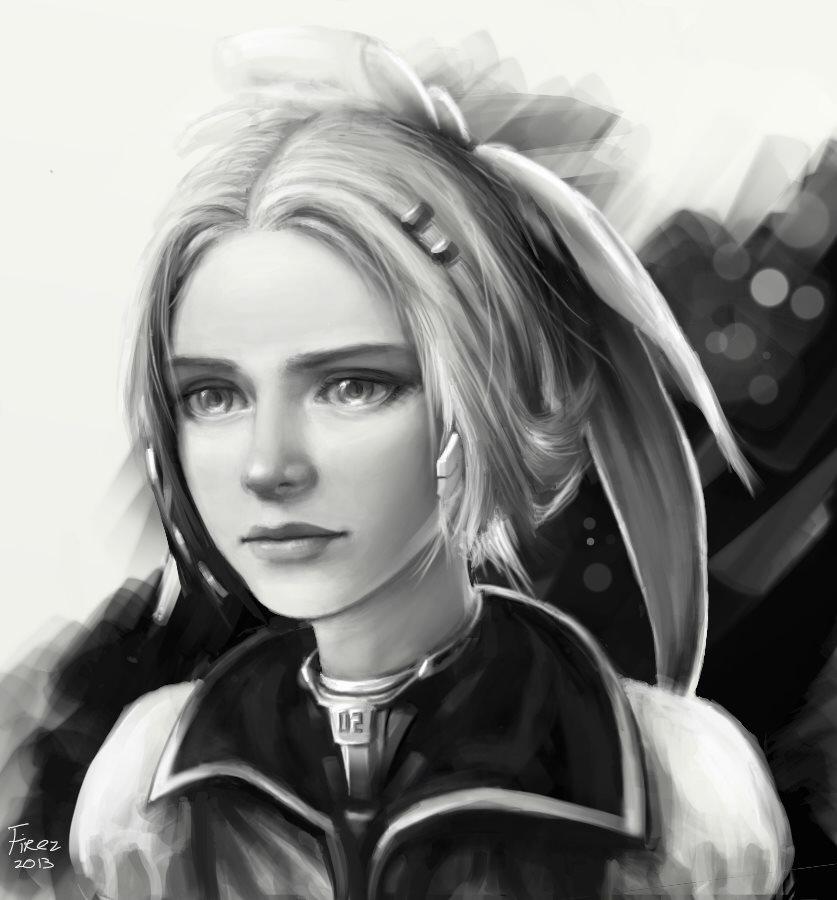 Vocaloid - Rin Portrait. by FiRez-DA