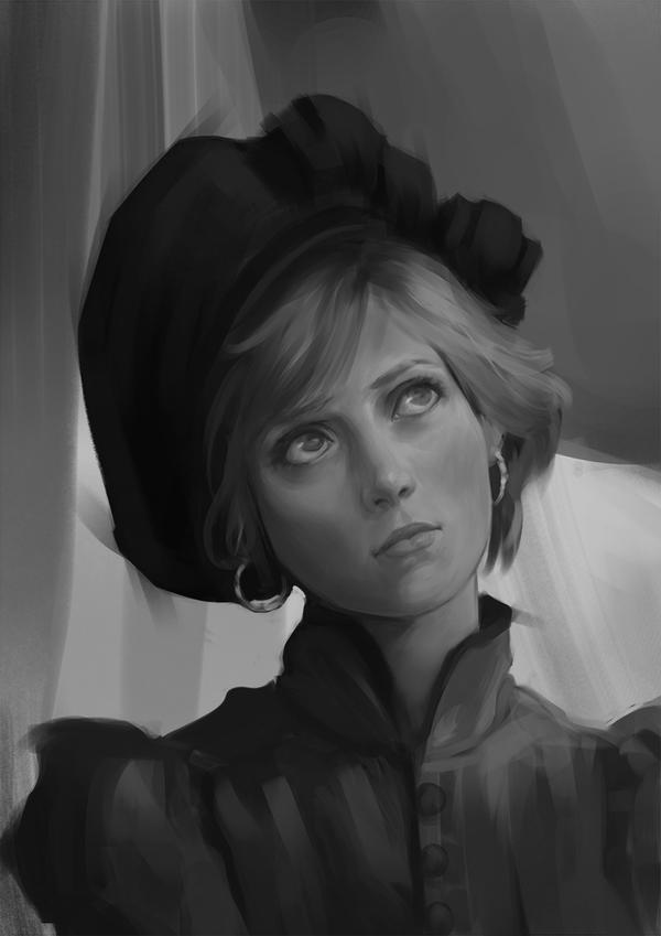 Lady di Study by FiRez-DA