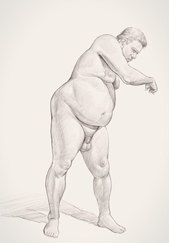 Figure Drawing by FiRez-DA