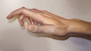 Hand study by FiRez-DA