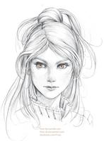 Character Sketch by FiRez-DA