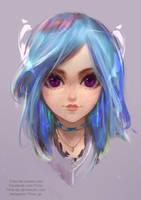 Procreate Color sketch by FiRez-DA
