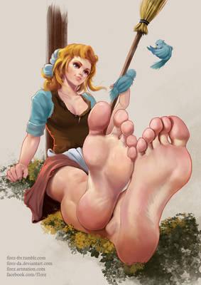 Commissioned piece: Cinderella