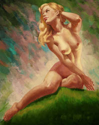 Earl Moran Master Study by FiRez-DA