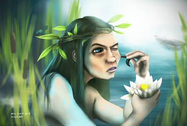 River Mermaid by MaxDaeWon