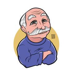 Old man sticker