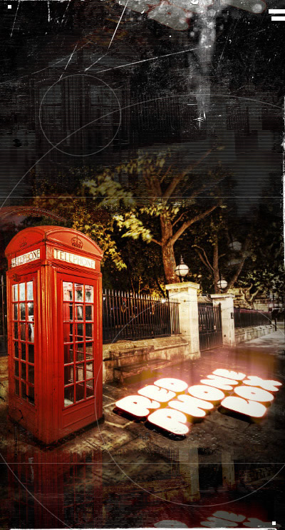 Red Phone Box cover remix by gaborcsigas
