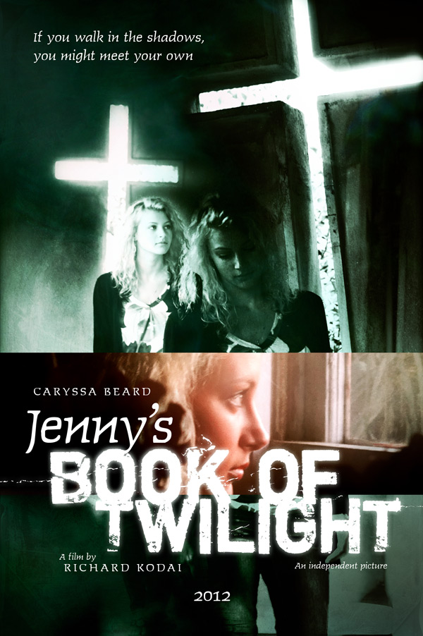 Jenny's Book of Twilight movie poster by gaborcsigas